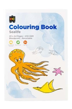 Sea Life Colouring Book
