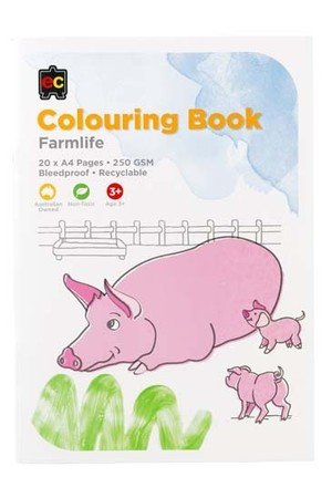 Farmlife Colouring Book