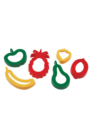 Dough 'Cookie' Cutters - Fruit
