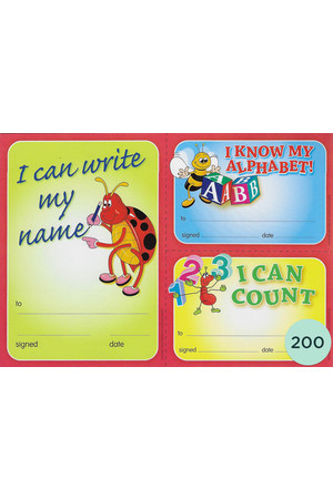 Early Years Achievement Merit Certificate - Pack of 200