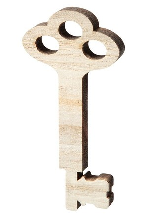 Wooden Keys - Pack of 12