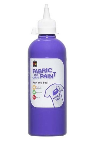 Fabric And Craft Paint 500ml - Purple