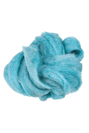 Crafting Combed Wool - Coarse: Jade Blue (100g)