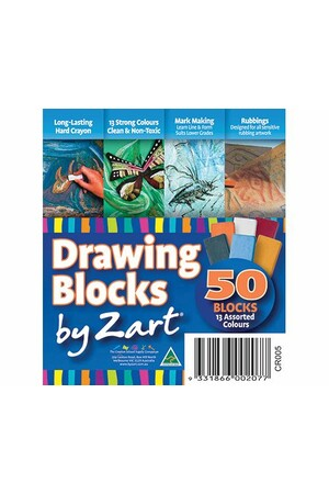 Zart - Drawing Blocks: Pack of 50