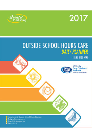 Outside School Hours Care Daily Planner 2017