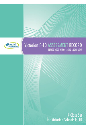VIC F-10 Assessment Record Book (7 Multi-Class Set) - Wiro Bound