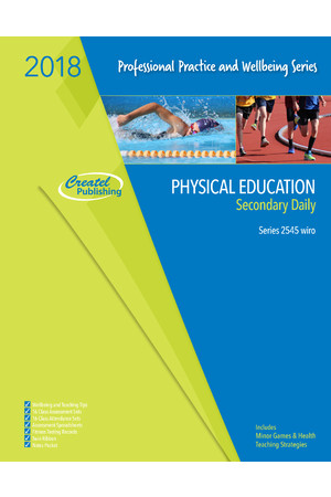 Secondary Physical Education Daily Planner 2018 - Wiro Bound