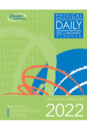 Physical Education Secondary Daily Planner 2017 – Wiro Bound