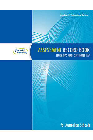 Assessment Record Book 2019 - Wiro Bound