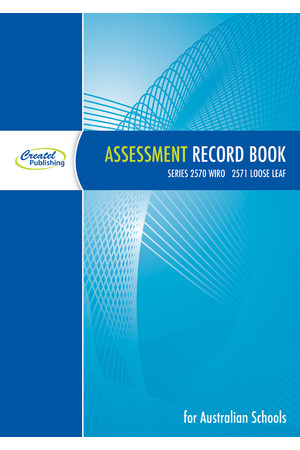 Assessment Record Book 2018 - Loose Leaf
