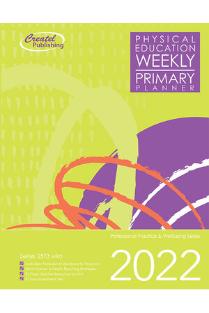 Physical Education Primary Weekly Planner 2017 – Wiro Bound