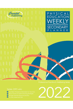Physical Education Secondary Planner 2019 (Weekly) - Wiro Bound