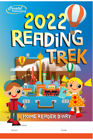 ReadingTrek 2018 - Home Reader Diary: Years K-4
