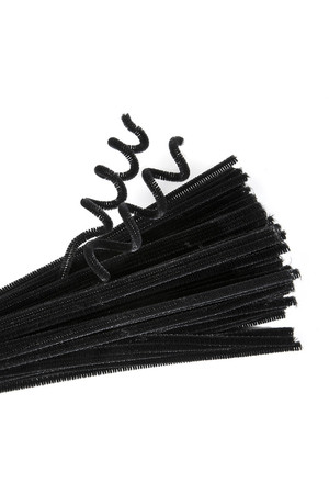 Chenille Stems - Black