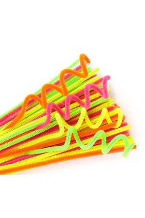 Chenille Stems - Neon Colours