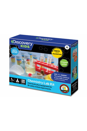 Chemistry Lab Kit - 80 Experiments