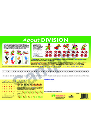 About Division Desk Mat (Pack Of 10)