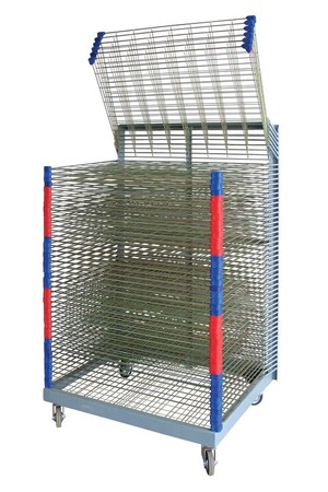 Drying Rack - 50 Shelves (Spring Loaded)