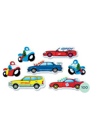 Boys Toys Erasers - Pack of 100