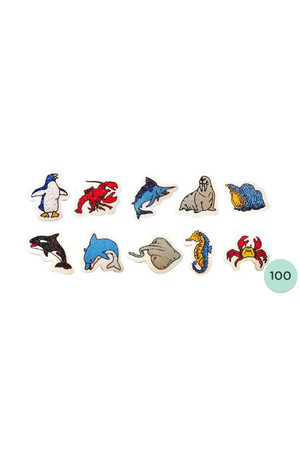 Marine Erasers - Pack of 100