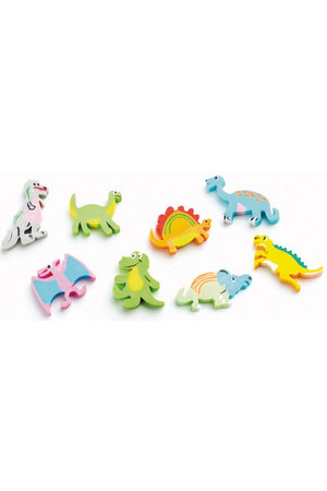 Dinosaurs Erasers - Pack of 20