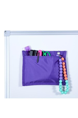 Magnetic Handy Pouch - Purple (Pack of 3)