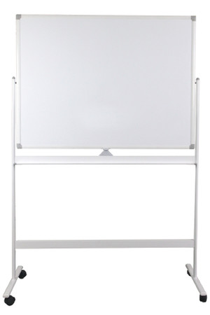 Mobile Porcelain Whiteboard - 1200 x 900mm