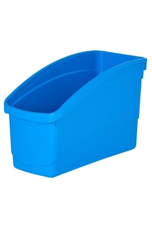 Plastic Book Tub - Playful: Light Blue