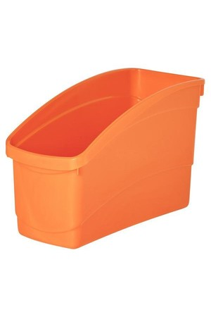 Plastic Book Tub - Playful: Orange