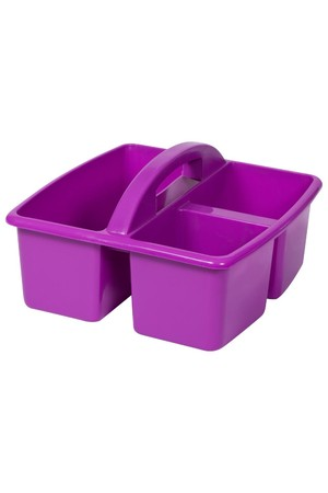 Small Plastic Caddy - Purple