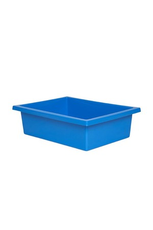 Plastic Tote Tray - Light Blue