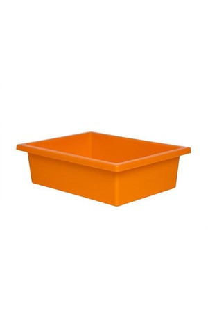 Plastic Tote Tray - Orange