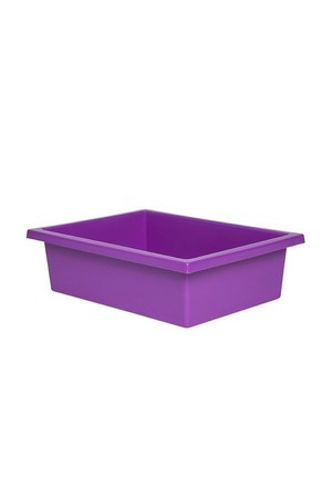 Plastic Tote Tray - Purple