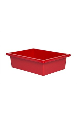 Plastic Tote Tray - Red