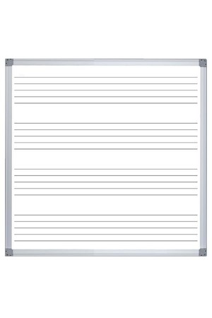 Music Whiteboard (Commercial Surface) - 1200 x 1200mm