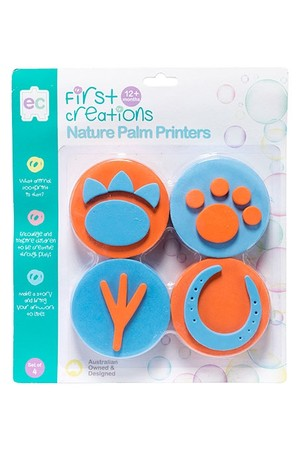 Nature Palm Printers - Set of 4