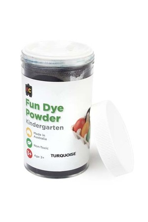 Craft Fun Dye Powder 100gms - Turquoise