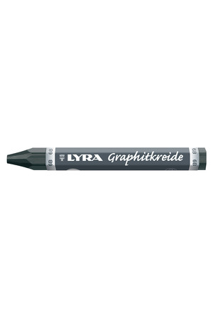 LYRA Graphite Crayon 6B Non Water Soluble - Pack of 12