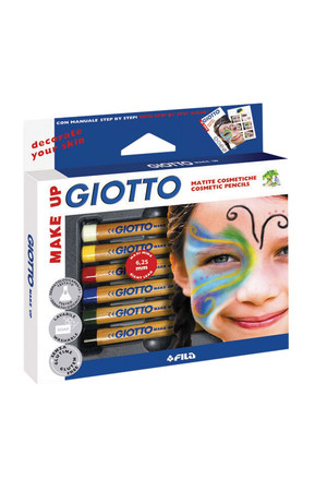 Giotto Make-Up Cosmetic Pencils: Set of 6