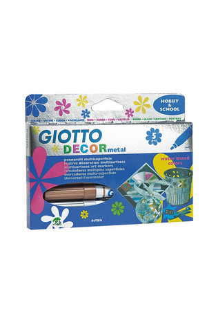Giotto Decor Metal Pens - Pack of 5