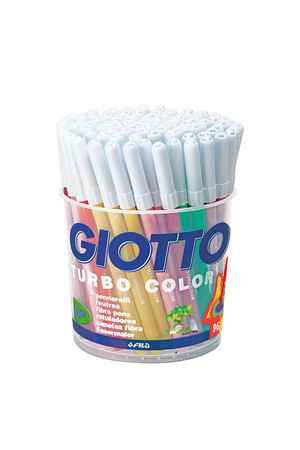 Giotto Turbo Colour Markers - School Pack of 96