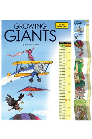 Growth Chart For Growing Giants