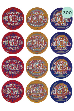 Deputy Principal's Foil Glitz Award Stickers - Pack of 300