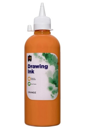 Drawing Ink – 500ml: Orange