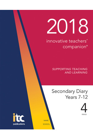 2018 Innovative Teachers' Companion - Secondary (4-Period)
