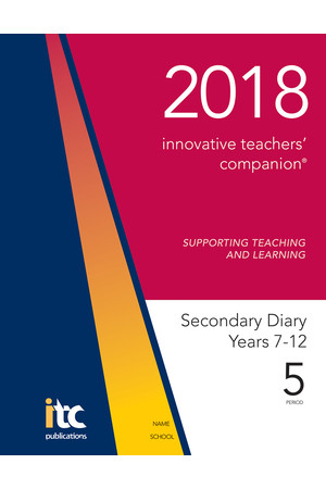 2018 Innovative Teachers' Companion - Secondary (5-Period)
