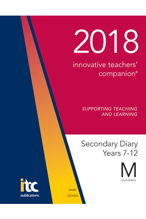 2018 Innovative Teachers' Companion - Secondary (Multi-Period)