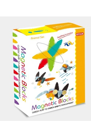 Hanye - Magnetic Blocks: Animal Set