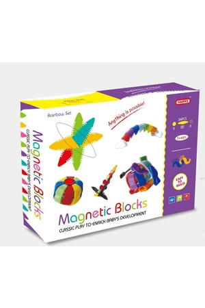 Hanye - Magnetic Blocks: Rainbow Set