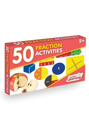 50 Fraction Activity Cards